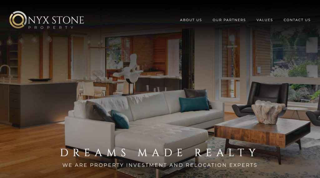 Onyx Stone Property. Digitiv's client